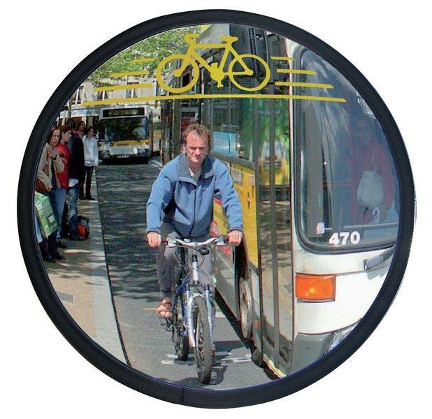 Miroir pour voies cyclables