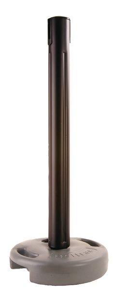 Poteau récepteur PVC pour poteau à sangle en extérieur