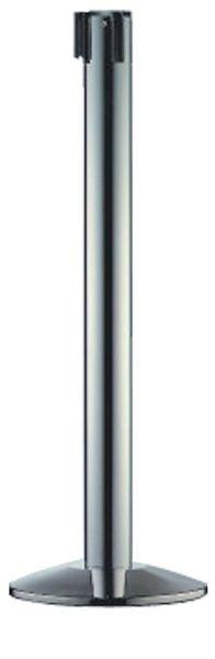 Poteaux à sangle noir ou chromé Ø 83 mm
