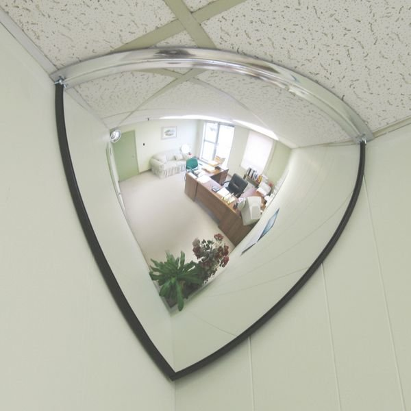 Miroir 1/8 Sphère vision 90°