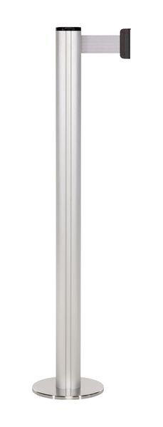 Poteau récepteur à embase magnétique