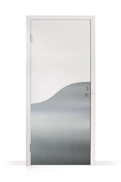 Plaques de protection des portes forme vague