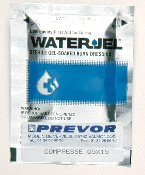 Compresses pour brûlures Water Jel