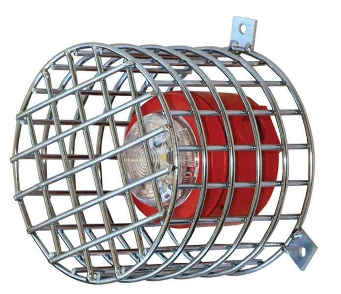 Grille de protection pour diffuseur sonore et visuel