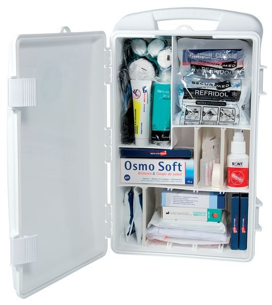 Armoire à pharmacie PVC transportable 10 pers.
