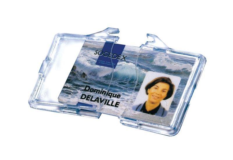 25 porte-badges sécuritaires clipsables