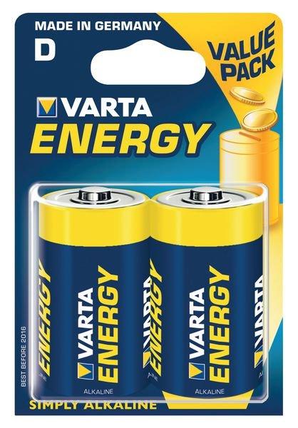 Piles alcaline à usage unique Varta Energy