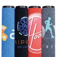 Tapis anti-poussière personnalisés avec marque ou logo