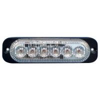 Feux de pénétration 6 LED à éclats 10/30 V