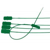Scellés à serrage progressif tige lisse Vert