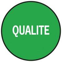 """Pastilles multi-usages gestion de stock """"Qualité"""""""
