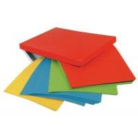 Boîte 100 étiquettes 4 couleurs panachées