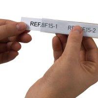 Porte-étiquettes adhésifs prédécoupés