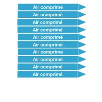 Marqueurs de tuyauterie CLP Signals Air