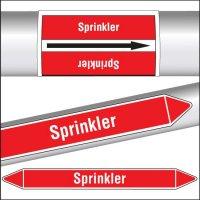 Marqueurs de tuyauterie CLP Sprinkler