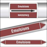 Marqueurs de tuyauterie CLP Emulsions