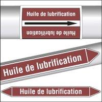 Marqueurs de tuyauterie CLP Huile de lubrification