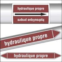 Marqueurs de tuyauterie CLP Huile hydraulique propre