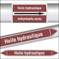 Marqueurs de tuyauterie CLP Huile hydraulique