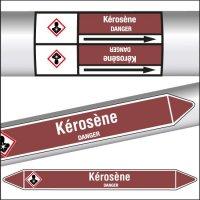 Marqueurs de tuyauterie CLP Kérosène