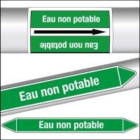 Marqueurs de tuyauterie CLP Eau non potable