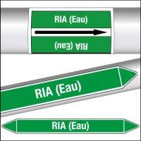 Marqueurs de tuyauterie CLP RIA (Eau)