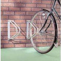 Range-vélos muraux orientables en acier zingué
