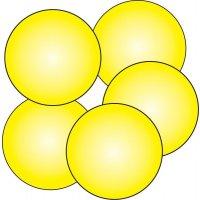 10 Pastilles de sol antidérapantes photolum Ø 75 mm