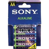 Piles alcaline à usage unique Sony