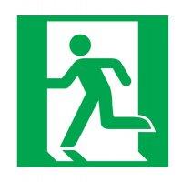 Pictogramme magnétique symbole Evacuation