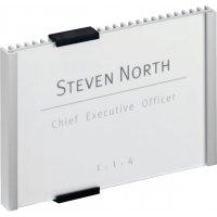 Plaques de porte design en aluminium