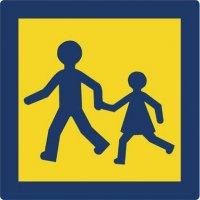Panneau Alu arrière Transport d'enfants