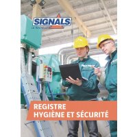 Registre Hygiène et sécurité 60 pages
