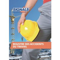 Registre Accident du travail 52 pages