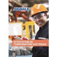 Registre Consignation électrique 80 pages