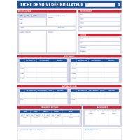 Registre Fiches maintenance des défibrillateurs
