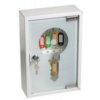 Armoire à clés porte vitrée capacité 10 ou 20 clés