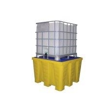 Bacs de rétention pour containers 1000 l et 1200 l