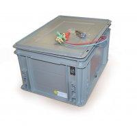Coffret porte batterie L 400 x l 300 x h 235 mm