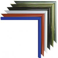 Cadre aluminium pour affiche avec façade Plexi
