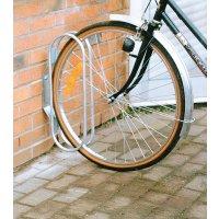 Range-vélos au sol ou mural 1 vélo en acier galvanisé