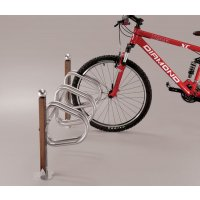 Range-vélos métal et bois