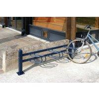Range-vélos sur potelets en épi et modulaires