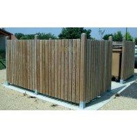 Cache-conteneurs en bois