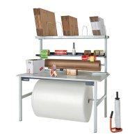 Tables de travail et d'emballage capacité 300 kg