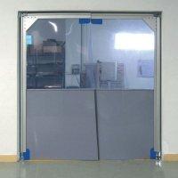 Portes battantes avec isolation phonique et thermique