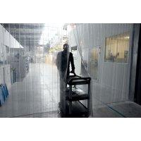 Rideaux à lanières en PVC pour la séparation des zones