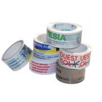 Rubans d'emballage personnalisés adhésifs