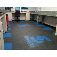 Dalles de sol en PVC haute résistance personnalisées