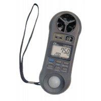 Thermomètre - hygromètre - luxmètre - anémomètre